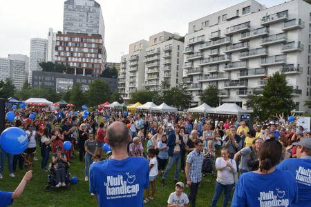 Un événement organisé par des bénévoles