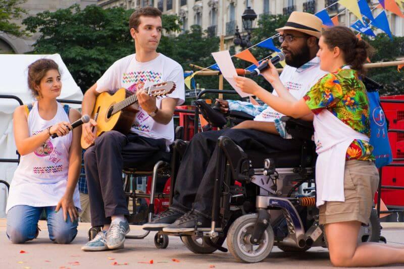 La Nuit du handicap à Paris